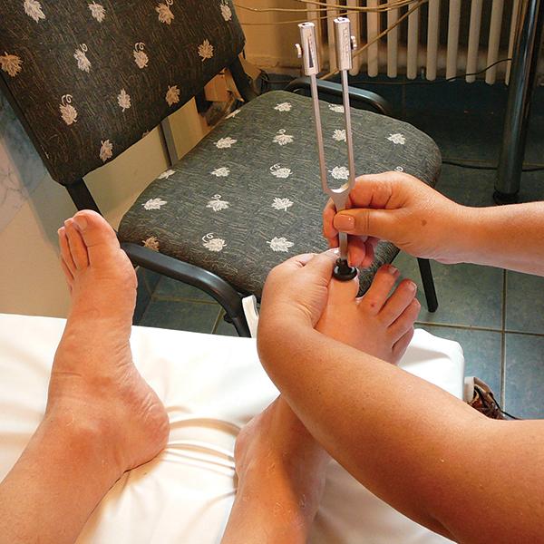 diabéteszes láb diagnózisa