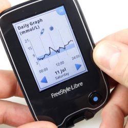 FreeStyle Libre Flash szöveti glukózmonitorozó rendszer