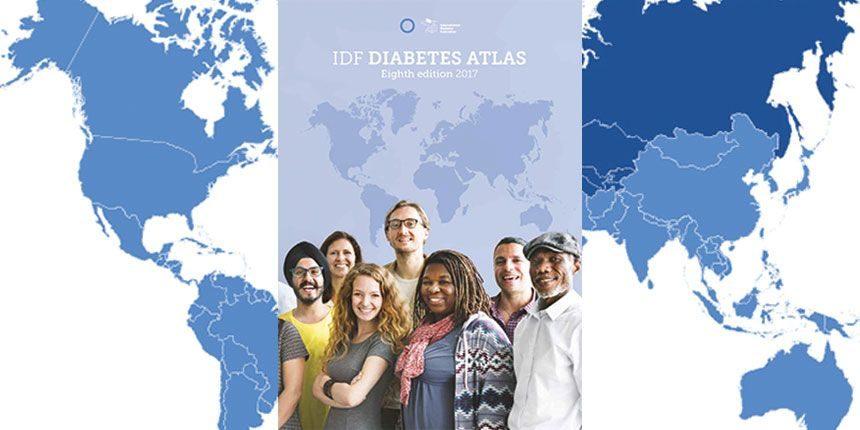 IDF Diabétesz világAtlasz 2017