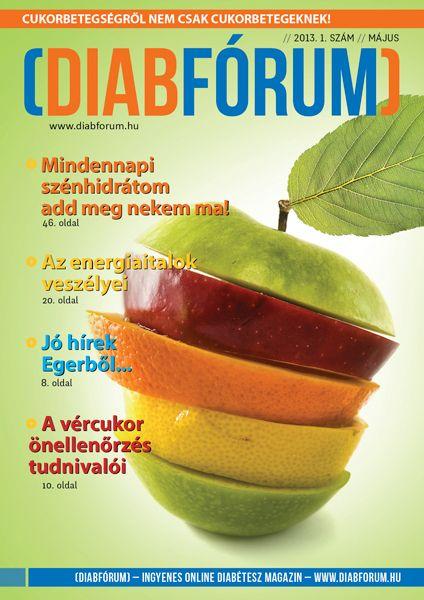 DiabFórum magazin 2013/1 - Mindennapi szénhidrátom add meg nekem ma
