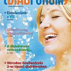 DiabFórum magazin 2013/2 - Életelemünk: a víz