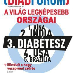 DiabFórum magazin 2013/4 - Óvjuk a jövőnket!
