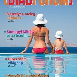 DiabFórum magazin 2014/2 - Veszélyes, meleg időjárás