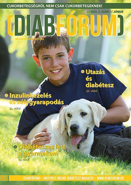 DiabFórum magazin 2015/2 - Diabéteszes lett a gyermekem