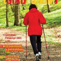 DiabFórum magazin 2016/1 - Nordic Walking: Testedzés két bottal