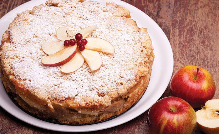 Almás tönköly tortácska