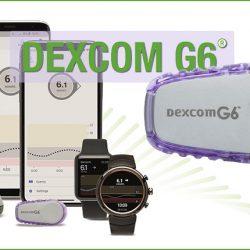 A Dexcom G6 folyamatos szöveti glukózszenzor