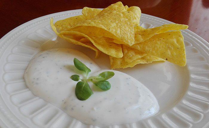 Tortilla chips snack