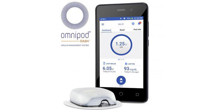 Új Omnipod inzulinpumpa rendszer került forgalomba