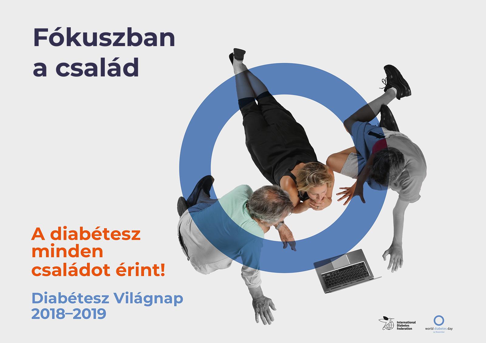 Diabétesz Világnap 2018 - Fókuszban a család
