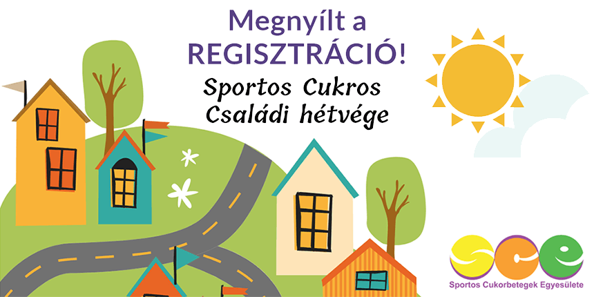 Sportos Cukros Családi Hétvége - megnyílt a regisztráció!