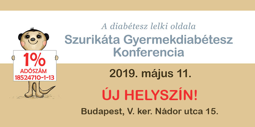 Szurikáta Diab-Pszicho konferencia - 2019. május 11. (szombat)