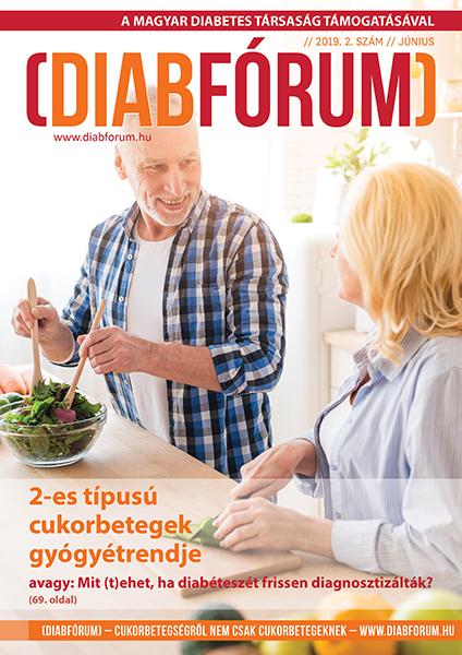 DiabFórum magazin 2019/2 - június, 2-es típusú cukorbeteg gyógyétrend