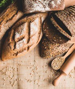 gabonafélék, pékáruk