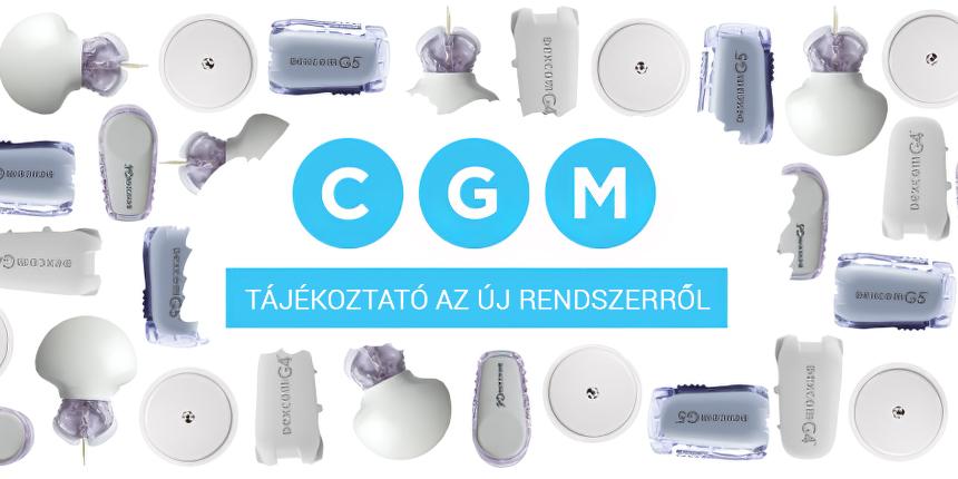 Tájékoztató a valós idejű szöveti glükózmonitorozást (CGM) érintő, idén bevezetésre került új rendszerről