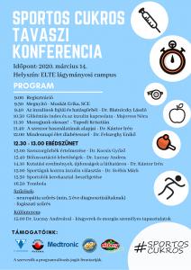 Sportos Cukros Tavaszi Konferencia